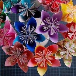 картинки из бумаги цветы