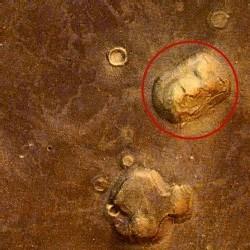 фото лицо на марсе