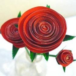 8669c8c2cc3c8f48d046f1b7a6c6174d Оригами роза схема - Оригами из бумаги