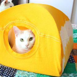 Смотреть как сделать дом для кошки 127