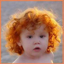 Если ребенок родился рыжим поменяет ли он цвет волос