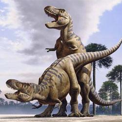 Динозавры занимаются сексом