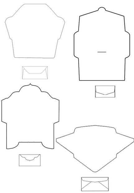 12f84ff7264580d98784aeb4e34ba4c3 Как сделать конверт из бумаги А4 своими руками для письма