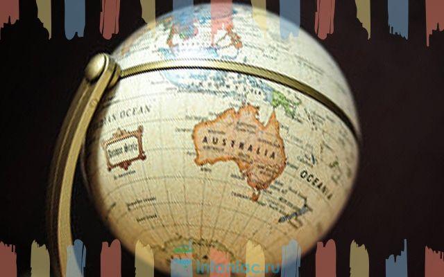 На что похож материк австралия