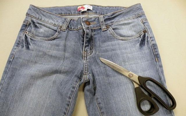 джинсовые бриджи на мальчика