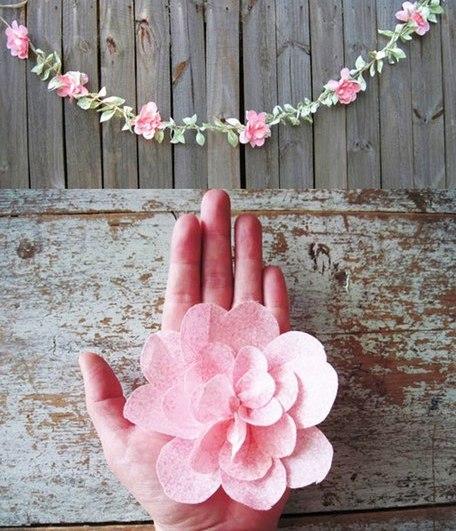 Гирлянда на свадьбу своими руками фото