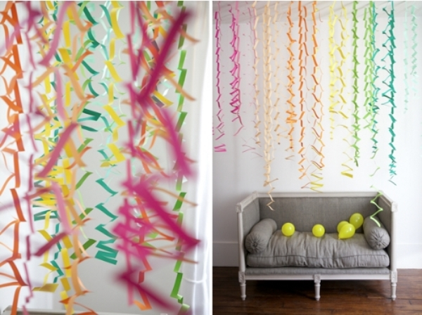 Украсить дом на день рождения своими руками