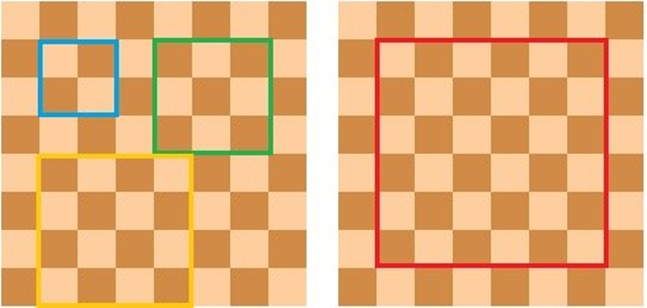 СКОЛЬКО клеток на шахматной доске на самом деле?