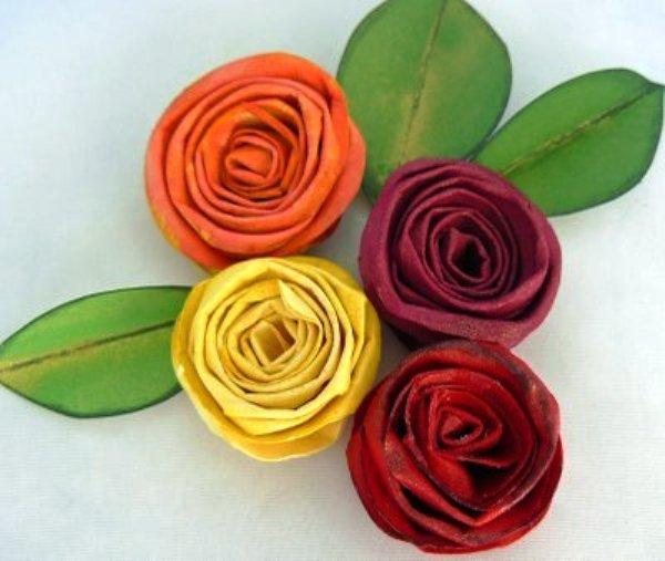 Невесты цветы из бумаги на 8 марта цветы цена офисные