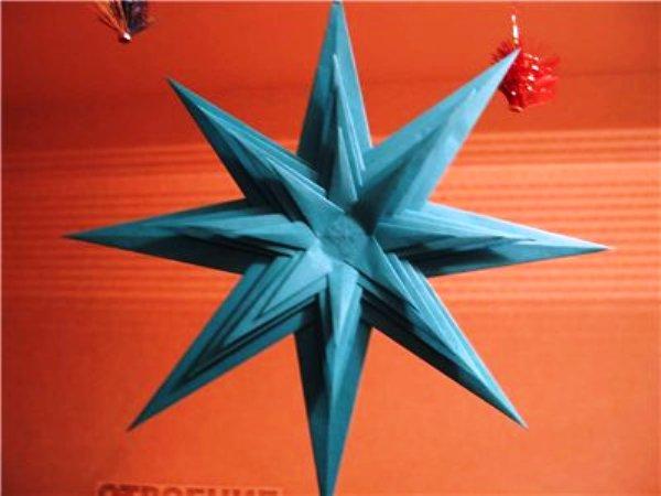 Как можно сделать звезду из бумаги фото 161