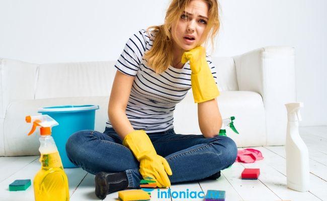 Как ухаживать за домом чтобы не заболеть