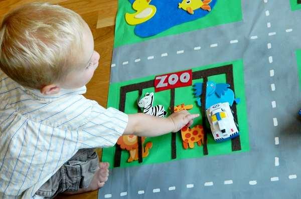 2e1c2a4aec38395701c5354589bdaf62 Развивающий коврик своими руками для вашего малыша
