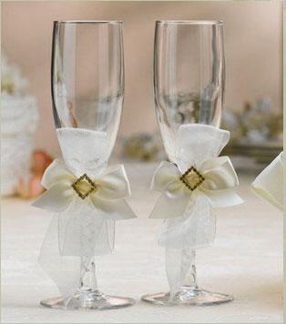 2eaf0a070cf752a9f51a782104b0a19c Украшение свадебных бокалов