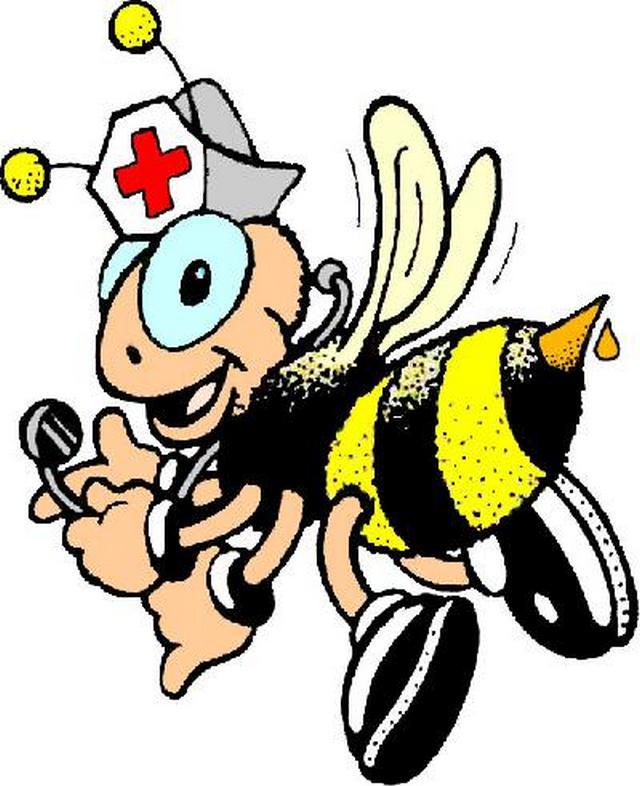 пчела доктор картинки