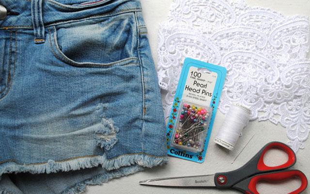 4743e8542624cc382e7891e32396ac00 Как сделать из старых джинс модные шорты