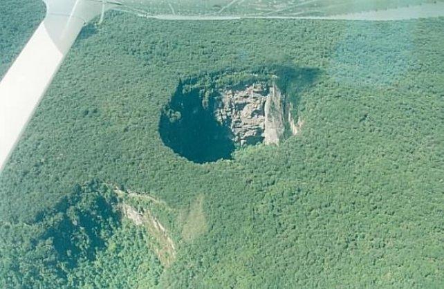 Самые большие дырки в земле