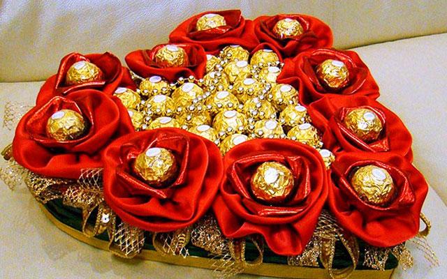 Букеты из конфет своими руками мастер классы 932
