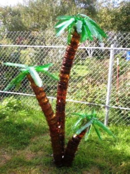 Пальма большая своими руками
