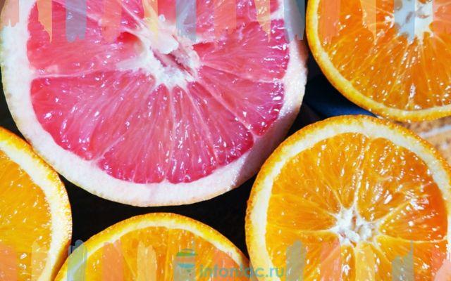 Оранжевый и розовый