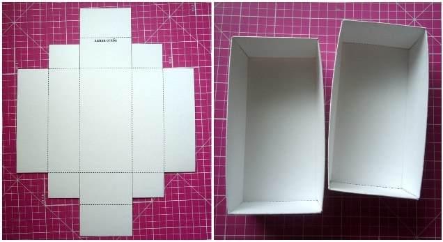 Коробка из бумаги фото своими руками
