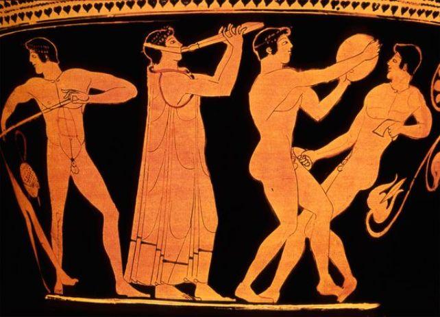Секс развлечения греков