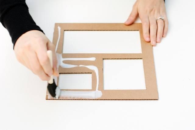 Как сделать органайзер для канцелярии в виде ящика своими 77