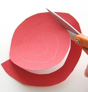 61f0af50acfecf6831b117045c20caae Оригами роза схема - Оригами из бумаги