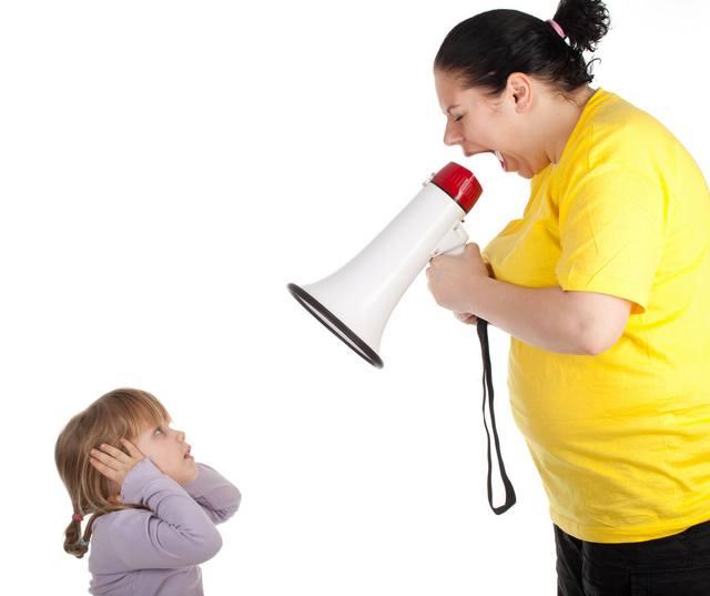 Если на ребенка постоянно кричать