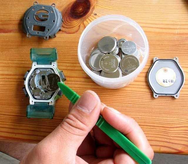 какие батарейки в часах g shock парфюмерной