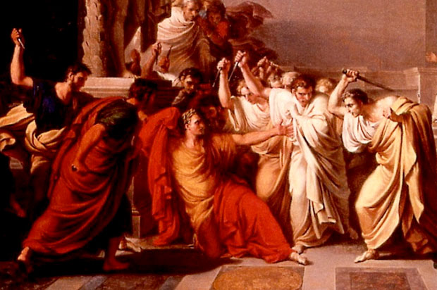 an overview of the elements of brutus in the killing of caesar