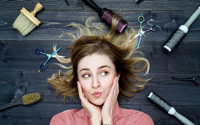 В россии у большей части женщин тонкие волосы в отличие от южанок.