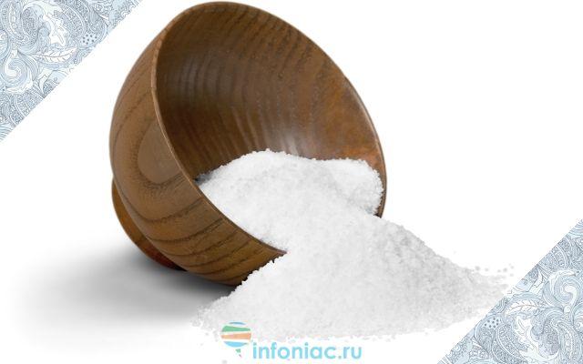 5 граммов соли — вред или польза, яд или лекарство