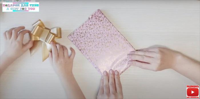 Упаковка фоторамки в подарок своими руками - бюджетно и креативно