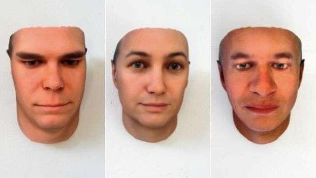 Портреты, полученные из ДНК
