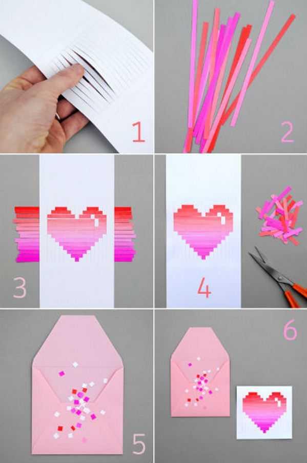 Можно сделать открытку из бумаги