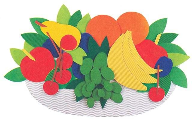 97ffbe30bdefd39189cca2e8b80d5688 Аппликации из цветной бумаги шаблоны распечатать для детей 2-3, 4-5, 6-7 лет. Фото. тема осень, зима, весна