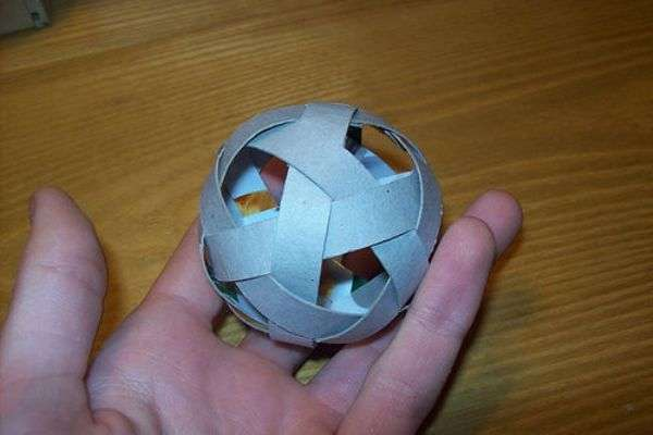 Сделать мячик своими руками