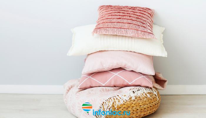 Как часто нужно стирать подушки и как это правильно делать?