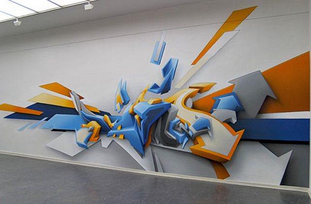 Он стал одним из самых востребованных художников граффити в мире и даже появился в Книге рекордов Гиннеса