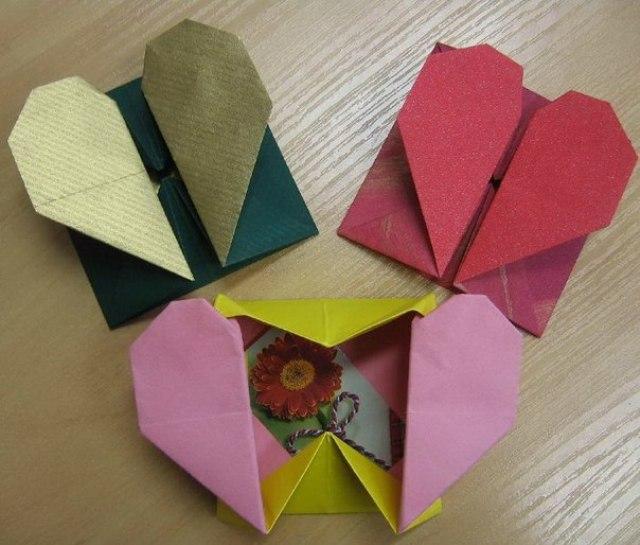 Открытка оригами для бабушки своими руками на день рождения