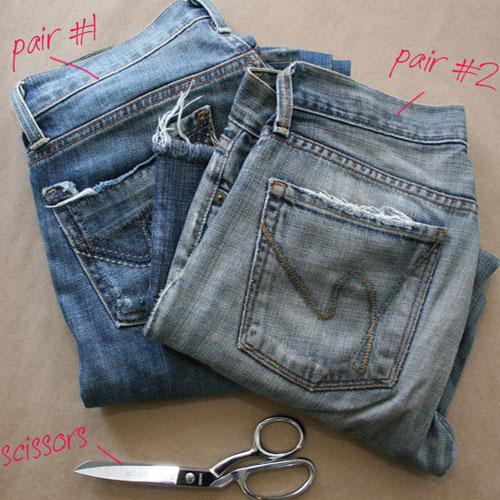 ba1aa201d6dd4d2153fb1ccb2b133ed8 Как сделать из старых джинс модные шорты
