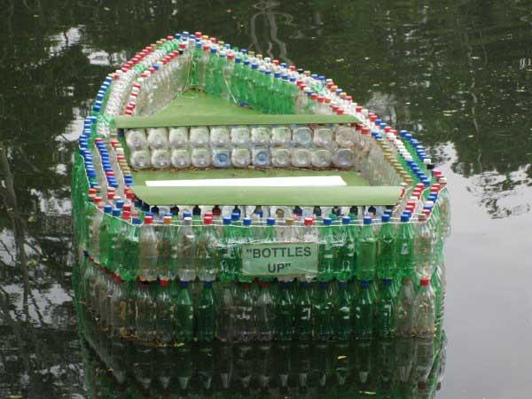Изделие из пластмассовых бутылок своими руками