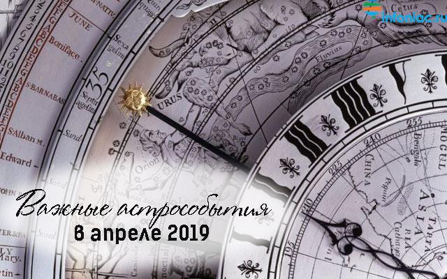 Общий астрологический прогноз для всех знаков Зодиака на апрель 2019