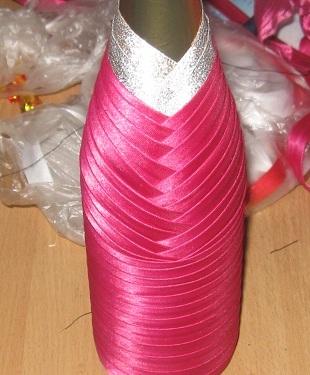 bd2b4182f09e09c05339556d4c498ffb Как украсить бутылки шампанского в подарок своими руками