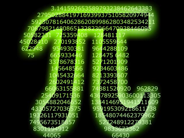 интересных фактов о числах Число Пи
