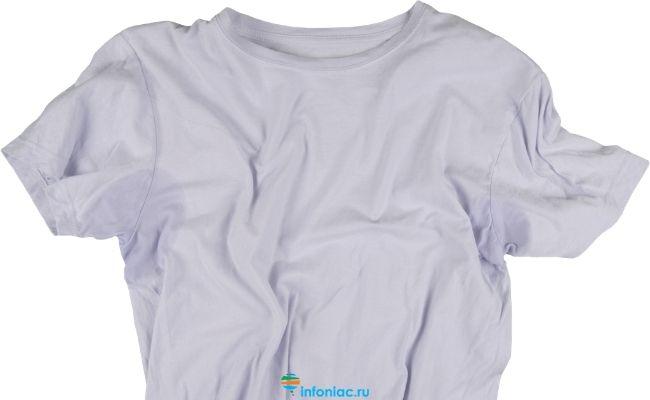 Потная футболка