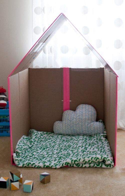 bf08c4de7960fabd8813e0a2c420bfd5 Поделка домик своими руками - 64 фото идеи изделий в виде домика для детей