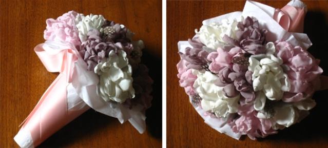 Букет на свадьбу своими руками искусственные цветы для прически купить владимир