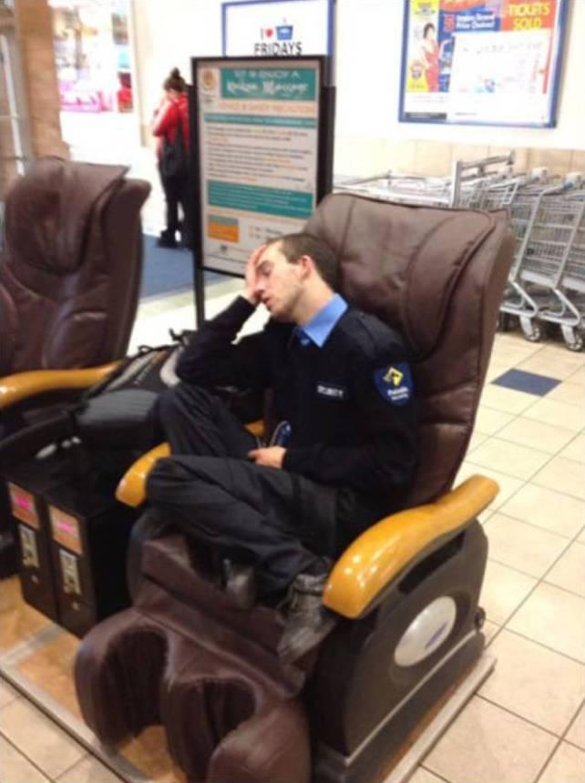 Смешные картинки спящих охранников