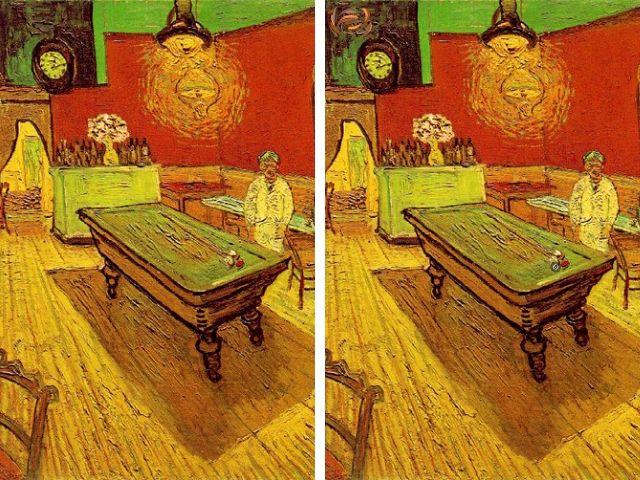 Тест на внимательность: Найдите все оригиналы картин Винсента Ван Гога